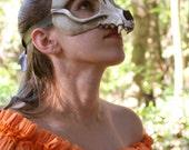 ORIGINAL Handmade Resin Fox Skull Mask