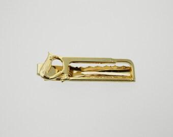Gold Carpenter Tie Clip - TT018 - Gold Saw Tie Clip