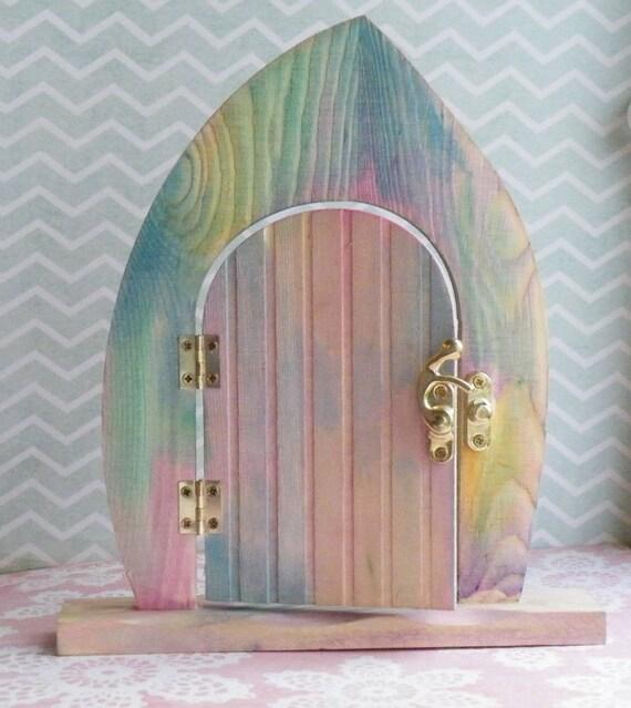Rainbow fairy door for Rainbow fairy door