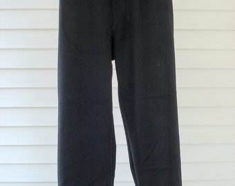 1940s Navy trousers - wide leg - official military