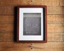 DIY Printable - Chalkboard Wedding Thank You Sign