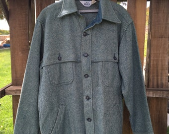 Woolrich - Teal Wool Jacket - Size XL