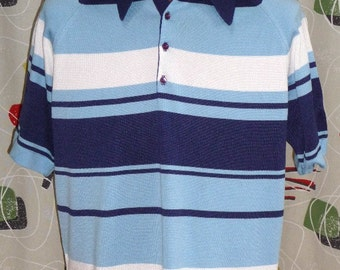 1970's Poly Pullover Shirt #1