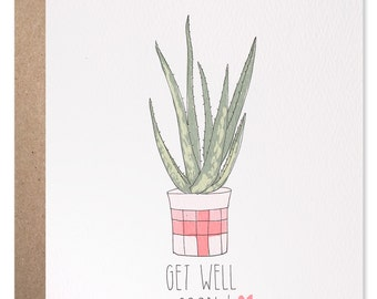 Get Well Soon Aloe