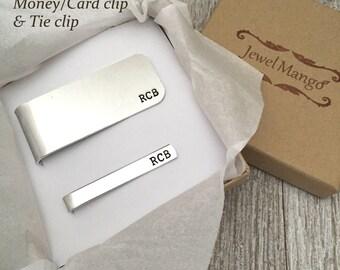 Wedding Gift Credit Card : Groomsmen gift wedding gift Money Clip Credit cards holder