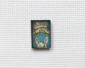 Alice in Wonderland Mini Fairy Tale Book Needle Minder