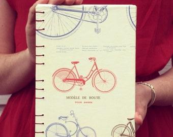 """Vintage Bicycle Sketchbook 5.75"""" x 8"""""""