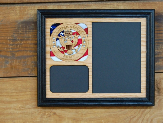 8x10 Us Army Picture Frame Laser Engraved Picture By
