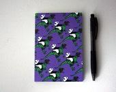 A6 Dinosaur Panda Notebook - notepad - small notebook - dinosaur notebook - panda notebook - sketchbook