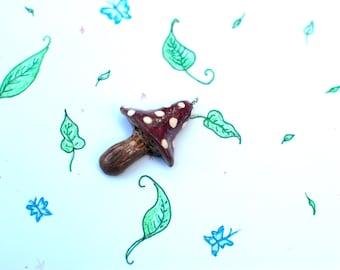 Mushroom Pendant, Mushroom Jewelry, Fairy Mushroom, Fairy Ring, Mushroom Necklace, Pendant Jewelry, Woodland Jewelry, Forest Jewelry