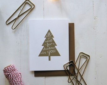 All I Want for Christmas is You...Naked-Christmas Card
