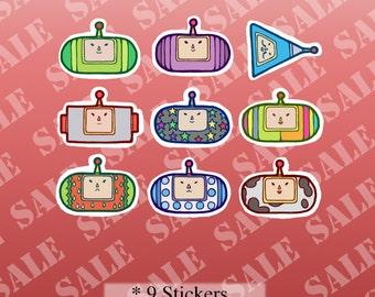 Katamari Damacy 塊魂 Inspired Stickers