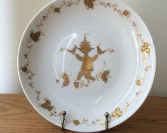 Vintage Bjorn Wiinblad for Rosenthal Gold Plate