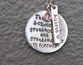 Grandma necklace   Grandma jewelry   Grandmother   The love between   Grandkids   New Grandma   Granddaughter