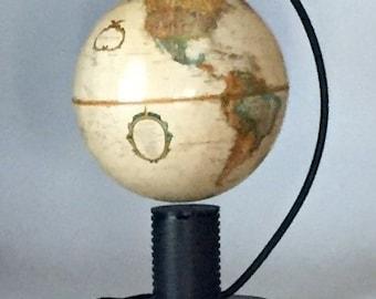 Antique Magnetic Levitating Globe