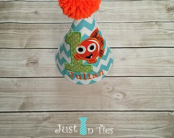Finding Nemo First Birthday Party Hat