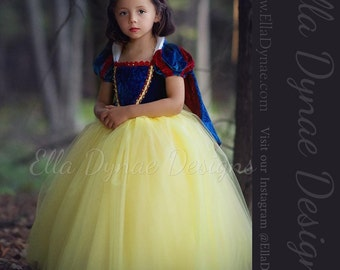 Size 2/3/4 Extra Slim READY_TO_SHIP Snow White Costume