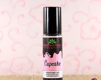Cupcake - Chocolate perfume oil - 10ml - essential oil, natural roll-on perfume