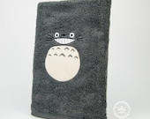 My Neighbor Totoro Inspired - Embroidered Bath Towel