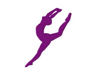 Dancer Firebird Embroidery Design