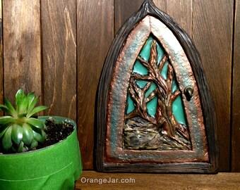 Fairy Door with Tree Design