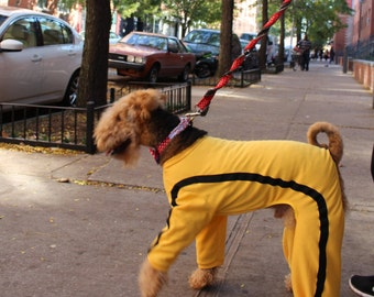 Yellow Jumpsuit for Dogs