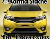 "24"" Car Mustache Vinyl Decal Sticker - Style; Fancypants - Color; Black  -  Karma Stache: Your #1 Source for Car Mustaches!"