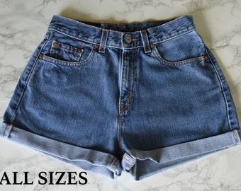 SALE! Dark Wash High Waisted Shorts ALL SIZES