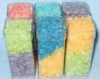 Bath Salt Favors(Two Ounces)-Bath Salt Favors-Wedding-Birthday Favors-Scented or Unscented.