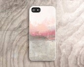 iPhone 6 Case Tough iPhone 6 Plus Case iPhone 5 Case Abstract Painting Samsung Galaxy S5 Case iPhone5 case Pastel Pink Watercolor Case