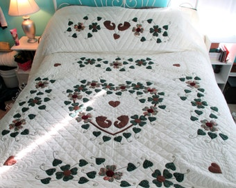 Heart of Roses Quilt
