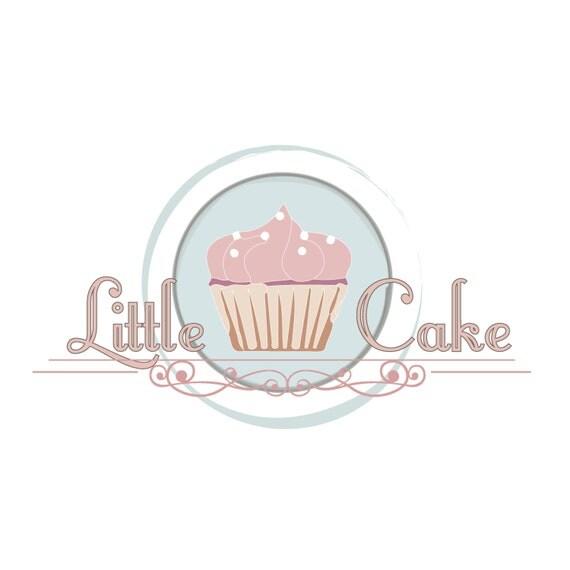 Custom logo design cake bakery logo design sweets cupcake