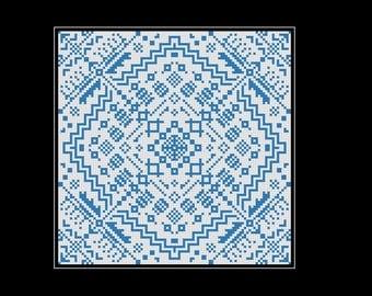 Geometric Square: modern sampler