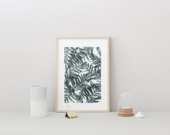POSTER small BOTANICA #3 - Tropical Fern