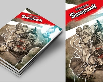 Before 10E NOW 8E!!! LAST COPIES!!! Soturisi's Sketchbook. Art book. No registered mail option