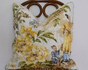 20x20 Scalamandre Pillow Cover