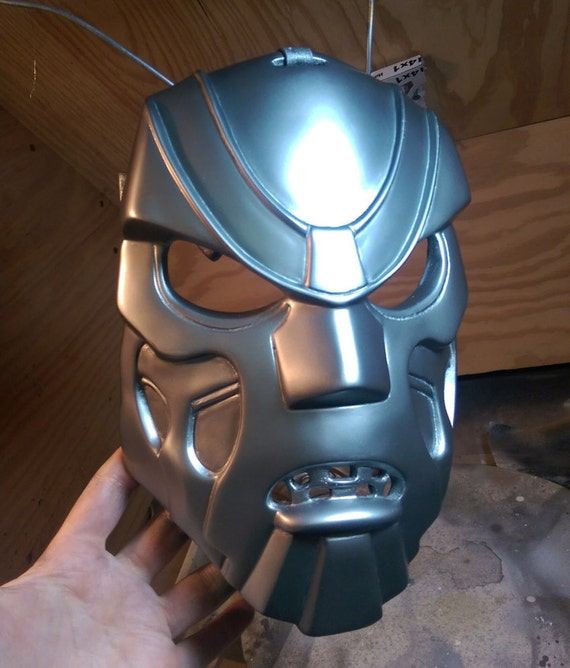 how to make mf doom mask