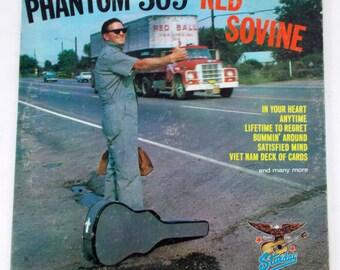 Red Sovine Phantom 309 Starday Vinyl LP Record SLP 414