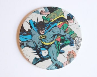 Batman Comic Book Custom Coasters