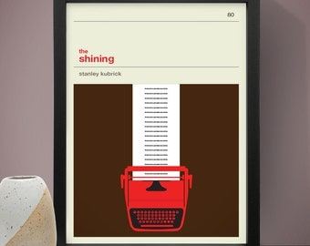 The Shining Movie Poster, Film Poster, Movie Print, Stephen King