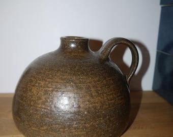 Rudi Stahl - Westerwald - Höhr-Grenzhausen - Germany - Mid Century - Stoneware - Brown