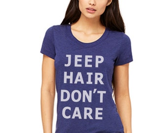 Jeep Hair Dont care Women Clothing T-shirt tank top size S M L XL