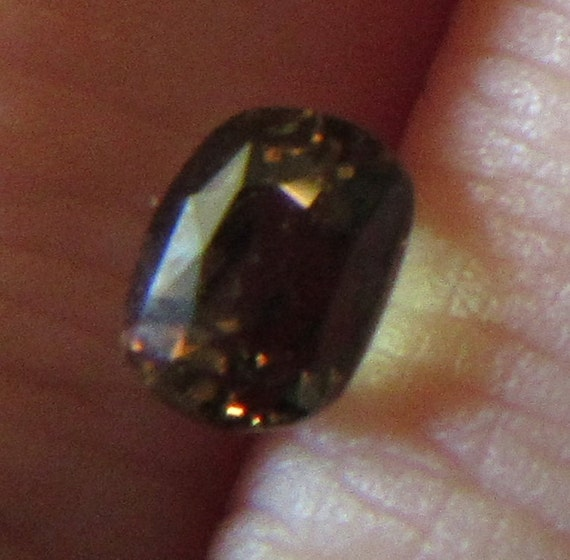 Natural Alexandrite 1.10 Carat 4.5x5.75 Madagascar Cushion Color Change Gemstone with Video