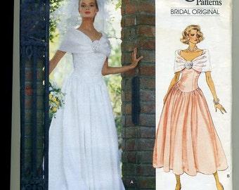 Vogue Original Bridal Pattern 2425 from 1990