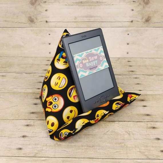 Emoji Ipad Holder Emoticon Fabric Tablet Pillow Stand