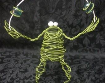 Juggling Frog
