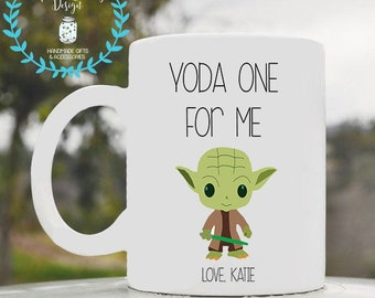 Yoda one for me, Yoda mug, Yoda, Star wars