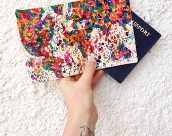 Passport Cover Personalized - Women's Passport Holder - Passport Cover - Map of the World - Passport Holder - World Map - Passport Wallet