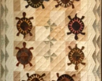 Turtle Travels Quilting Pattern Nature City Stitcher Quilt Collection 27 New Uncut