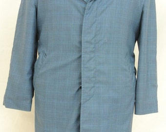 Claford Teal Rainwear Men's Size: 44